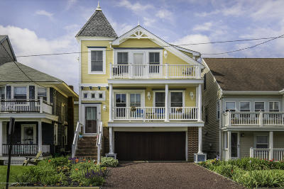 Neptune Twp, Ocean Grove Single Family Home Under Contract: 8 Seaview Avenue