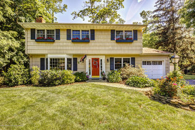 Little Silver Single Family Home Under Contract: 158 Silverside Avenue
