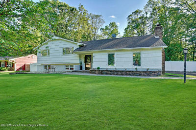 Manalapan Single Family Home For Sale: 10 Manor Drive