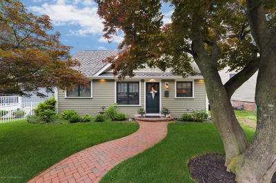 Atlantic Highlands, Highlands Single Family Home Under Contract: 43 4th Avenue