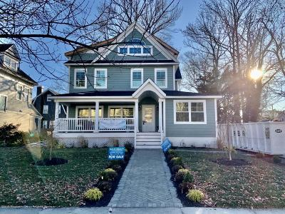 Asbury Park Single Family Home For Sale: 1002 Sunset Avenue