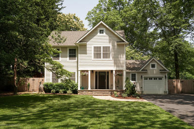 Little Silver Single Family Home For Sale: 143 Little Silver Point Road
