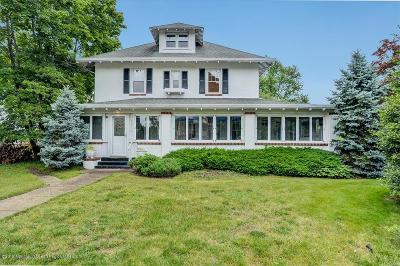 Monmouth County Single Family Home For Sale: 295 Main Street