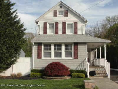 Aberdeen NJ Single Family Home For Sale: $419,900
