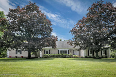 Colts Neck Single Family Home Under Contract: 75 Carriage Hill Drive