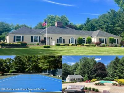 Colts Neck Single Family Home For Sale: 7 Blackbriar Drive
