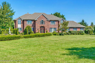 Colts Neck Single Family Home For Sale: 1 Twin Lakes Drive