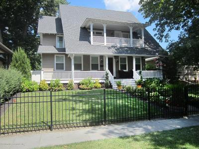 Asbury Park Single Family Home For Sale: 1017 4th Avenue