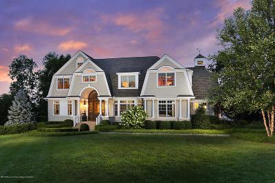 Rumson Single Family Home For Sale: 3 Sugar Maple Lane