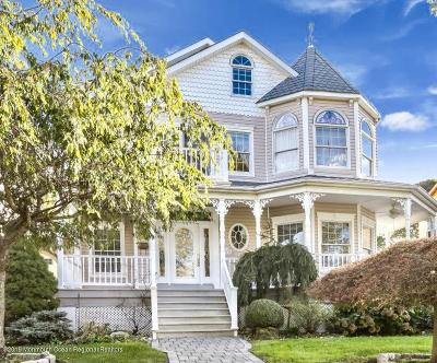 Avon-by-the-sea, Belmar Single Family Home For Sale: 337 Woodland Avenue