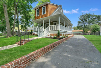 Asbury Park Single Family Home For Sale: 1215 4th Avenue