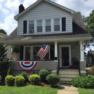 Monmouth County Single Family Home Under Contract: 22 Union Avenue