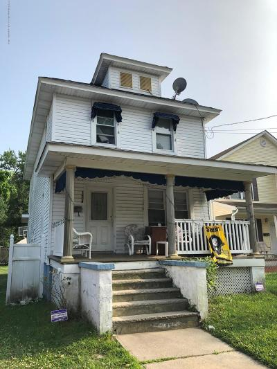 Asbury Park Single Family Home For Sale: 1604 Bangs Avenue