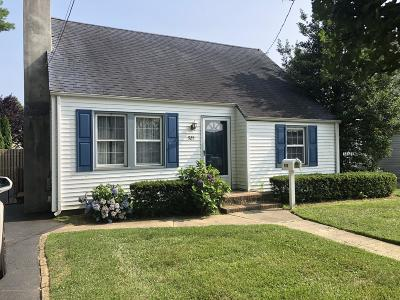 Avon-by-the-sea, Belmar, Bradley Beach, Brielle, Manasquan, Spring Lake, Spring Lake Heights Single Family Home For Sale: 925 Wall Road