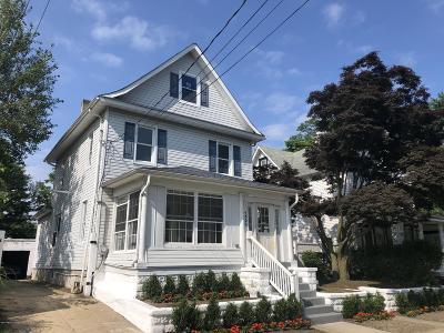 Asbury Park Single Family Home For Sale: 1003 Summerfield Avenue