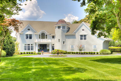 Rumson Single Family Home For Sale: 28 Ward Avenue