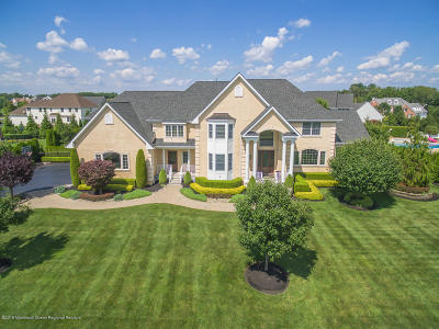 Aberdeen, Freehold, Hazlet, Holmdel, Howell, Manalapan, Marlboro, Matawan, Middletown, Morganville, Sea Bright Single Family Home For Sale: 4 Hanging Rock Road
