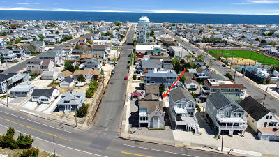 Seaside Park NJ Single Family Home For Sale: $1,398,000