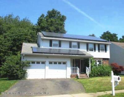 Aberdeen, Matawan Single Family Home Under Contract: 12 Elm Place