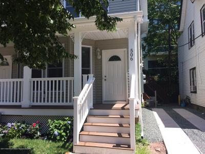 Asbury Park Rental For Rent: 506 Emory Street