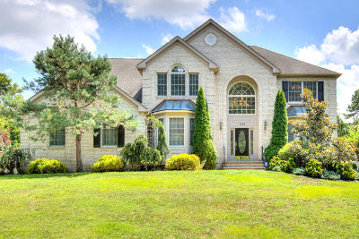 Brick Single Family Home Under Contract: 1253 Old Farm Road