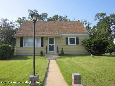 Neptune Township Single Family Home Under Contract: 207 Maple Avenue