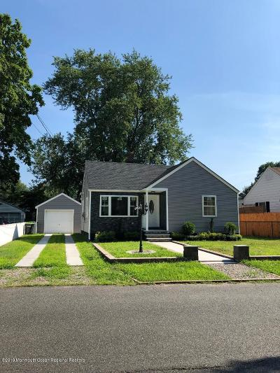 Hazlet Single Family Home For Sale: 44 10th Street