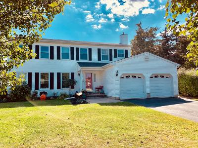 Toms River Single Family Home For Sale: 1020 Gregory Terrace