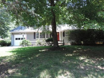 Monmouth County Single Family Home For Sale: 45 Parkway Place