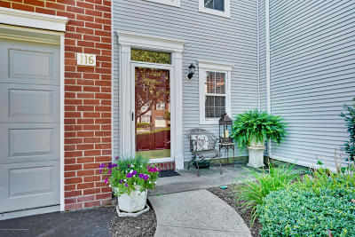 Monmouth County Condo/Townhouse For Sale: 116 Tanya Circle #2102