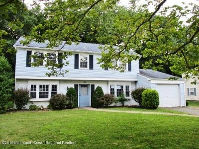 Aberdeen NJ Single Family Home For Sale: $280,000