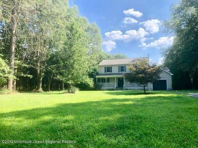 Single Family Home For Sale: 1446 Toms River Road