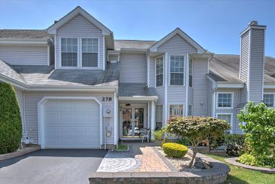 Freehold Condo/Townhouse For Sale: 278 Lilac Lane