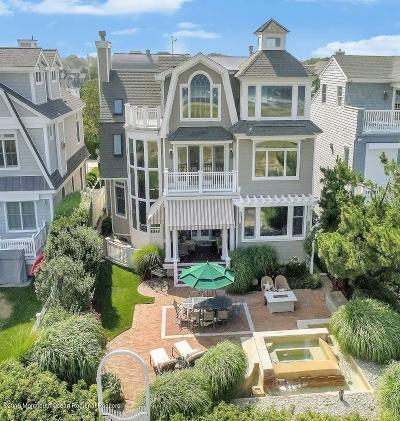 Sea Girt Single Family Home For Sale: 3 Ocean Avenue