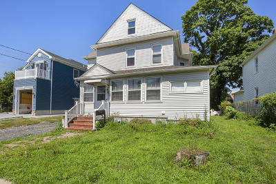 Long Branch Single Family Home For Sale: 75 7th Avenue