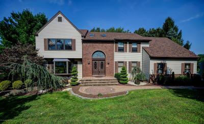 Morganville Single Family Home For Sale: 204 Nottingham Road