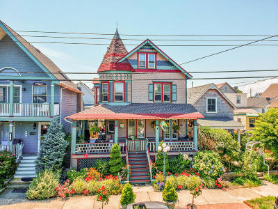Ocean Grove Single Family Home For Sale: 106 Broadway