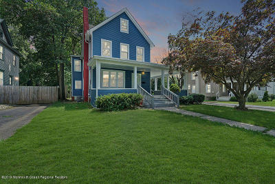 Freehold Single Family Home Under Contract: 42 Broadway