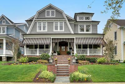 Avon-by-the-sea, Belmar Single Family Home For Sale: 408 Washington Avenue