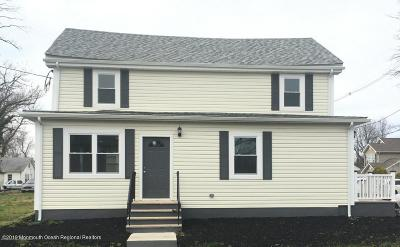 Freehold Single Family Home For Sale: 34 Avenue A