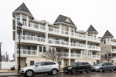 Seaside Heights Condo/Townhouse For Sale: 1301 Boulevard #10