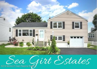Sea Girt Single Family Home For Sale: 1312 Willow Drive
