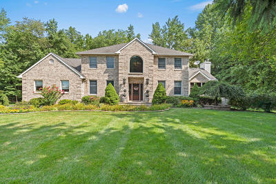 Manalapan Single Family Home Under Contract: 96 Taylors Mills Road