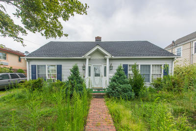 Point Pleasant Single Family Home For Sale: 1204 Madison Avenue