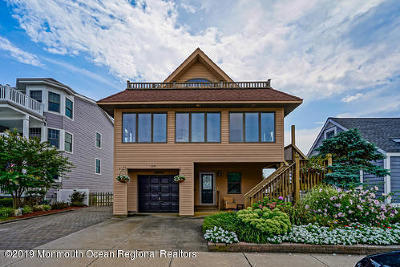 Seaside Park Multi Family Home Under Contract: 119 6th Avenue