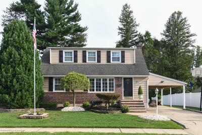 Freehold Single Family Home For Sale: 57 Mead Avenue