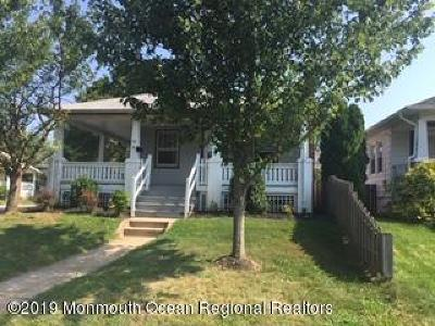 Neptune City Rental For Rent: 56 3rd Avenue