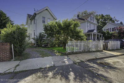 Long Branch Single Family Home For Sale: 101 6th Avenue