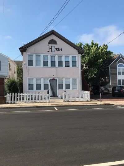 Seaside Heights Multi Family Home For Sale: 121 Blaine Avenue