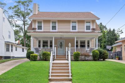 Asbury Park Single Family Home For Sale: 1324 Locust Drive